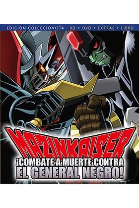 MAZINKAISER CONTRA EL GENERAL NEGRO (BD + DVD + EXTRA + LIBRO)