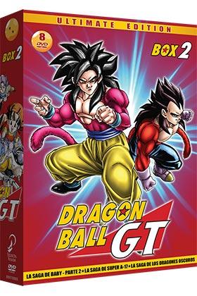 DRAGON BALL GT BOX 2 (8 DVD)