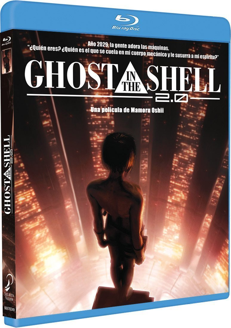 GHOST IN THE SHELL 2.0. BLU-RAY