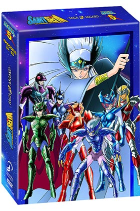 SAINT SEIYA BOX 5 (4 DVD)