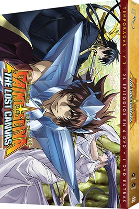 SAINT SEIYA THE LOST CANVAS TEMP 1+ 2 (6 DVD)