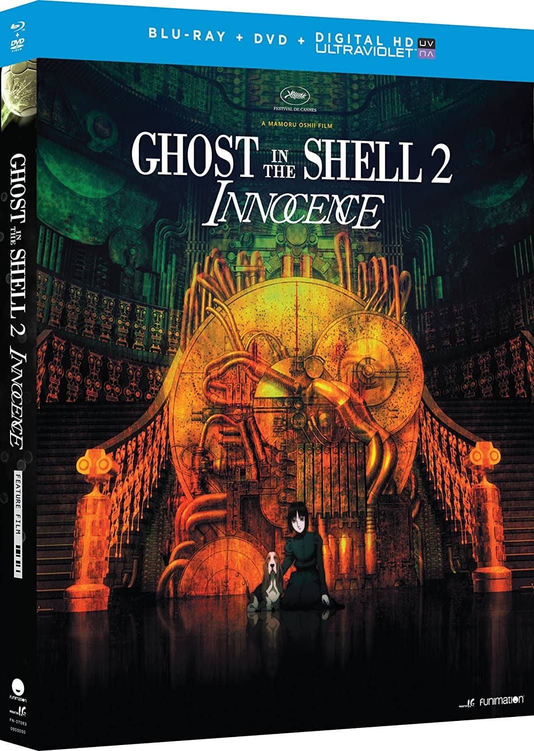 GHOST IN THE SHELL 2 INNOCENCE. BLU-RAY