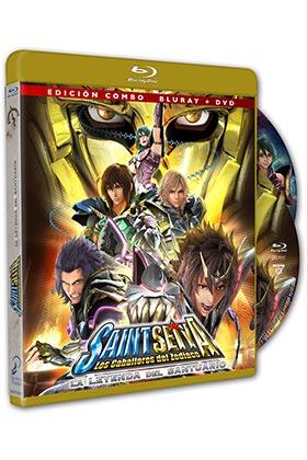 SAINT SEIYA. LA LEYENDA DEL SANTUARIO (BD+DVD)