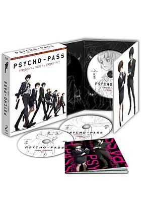 PSYCHO PASS TEMP 1 (2 BD) ED COLECCIONISTA