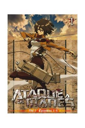 ATAQUE A LOS TITANES VOL.1 DVD