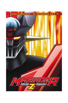 MAZINGER Z. ED. IMPACTO! SERIE COMPLETA (6 DVD)