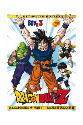 DRAGON BALL Z BOX 3 (7 DVD) - ULTIMATE EDITION