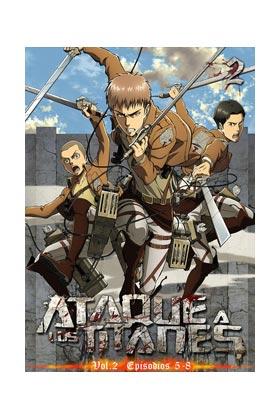 ATAQUE A LOS TITANES VOL.2 DVD