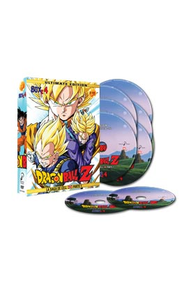 DRAGON BALL Z BOX 4 (7 DVD) - ULTIMATE EDITION