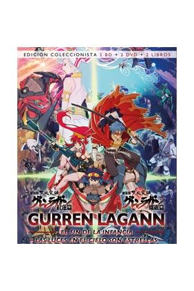 GURREN LAGANN. EDICION COLECCIONISTA 2 DVD + 2 BD + LIBRO