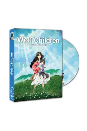 WOLF CHILDREN - LOS NIÑOS LOBO DVD