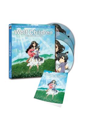 WOLF CHILDREN - LOS NIÑOS LOBO. ED. COLECC. (BD + DVD)