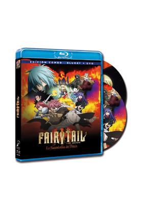 FAIRY TAIL (LA PELICULA: LA SACERDOTISA DEL FENIX (BD + DVD)
