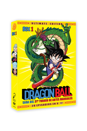 DRAGON BALL BOX 1 (6 DVD): SAGA 21 TORNEO ARTES MARCIALES. ULTIMATE EDITION