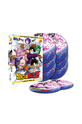 DRAGON BALL Z BOX 2 (8 DVD) - ULTIMATE EDITION