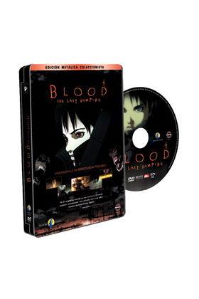 BLOOD THE LAST VAMPIRE DVD - EDICION CAJA METALICA