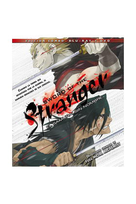 SWORD OF THE STRANGER BLU RAY + DVD COMBO