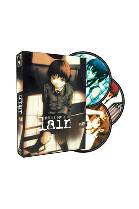 SERIAL EXPERIMENTS LAIN  ED. INTEGRAL (3 DVD)