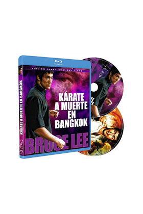 KARATE A MUERTE EN BANGKOK -  BLU RAY + DVD COMBO