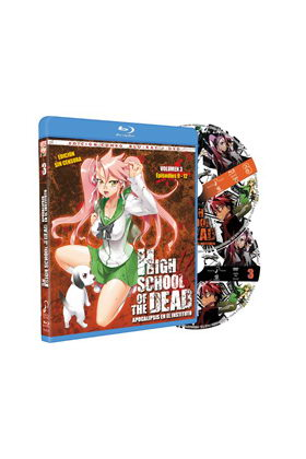 HIGH SCHOOL OF THE DEAD VOL 3 COMBO BLU·RAY + DVD