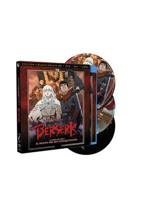 BERSERK LA EDAD DE ORO I - ED.COLECC BD+DVD+LIBRO+OST
