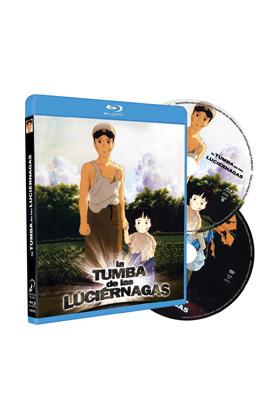LA TUMBA DE LAS LUCIERNAGAS BD+DVD -STUDIO GHIBLI-