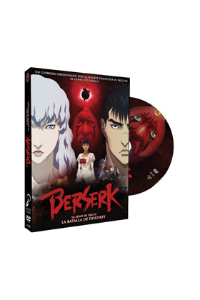 BERSERK LA EDAD DE ORO II   DVD