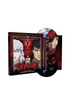 BERSERK LA EDAD DE ORO II - ED.COLECC BD+DVD+LIBRO