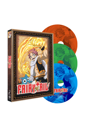 FAIRY TAIL BOX TEMPORADA 1 (3 DVD)