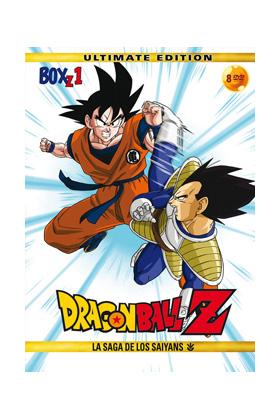 DRAGON BALL Z BOX 1 (8 DVD) - ULTIMATE EDITION