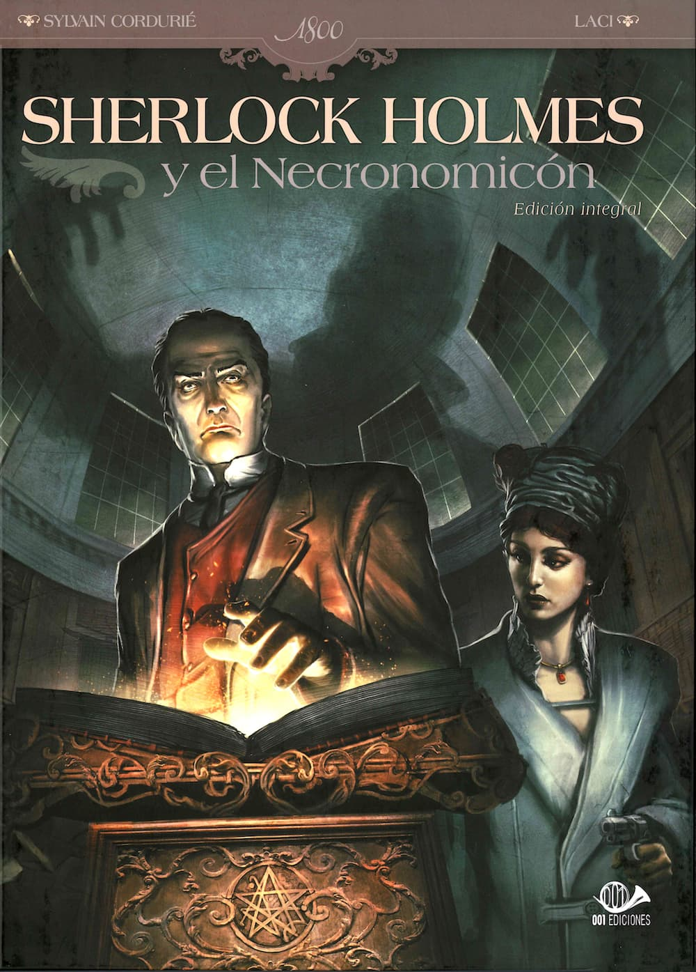 SHERLOCK HOLMES Y EL NECRONOMICON (INTEGRAL)