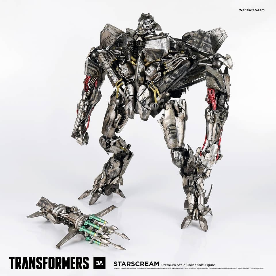 STARSCREAM FIGURA 40,64 CM TRANSFORMERS PREMIUM SCALE COLLECTIBLE FIGURE THREEZERO