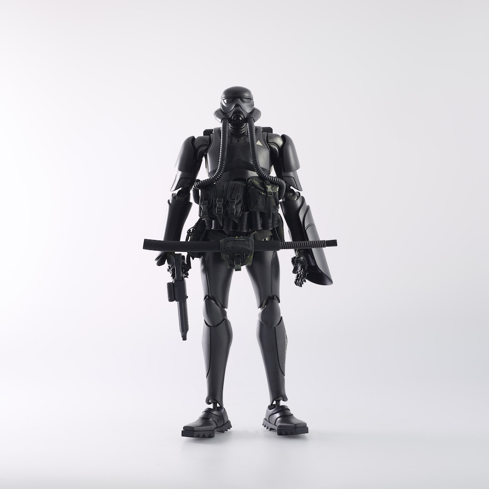 BLACK SUN COMMANDO FIGURA 30 CM SHOWA TK TROOPER V2 TOMORROW KINGS