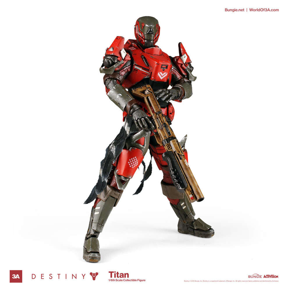 TITAN GUARDIAN FIGURA 32 CM DESTINY THREEAZERO