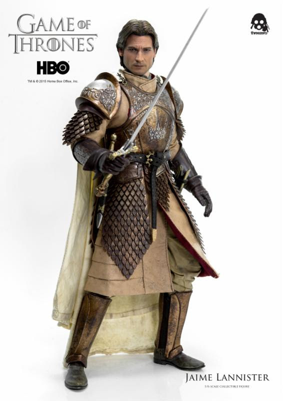 JAIME LANNISTER FIGURA 30,5 CM GAME OF THRONES THREEZERO