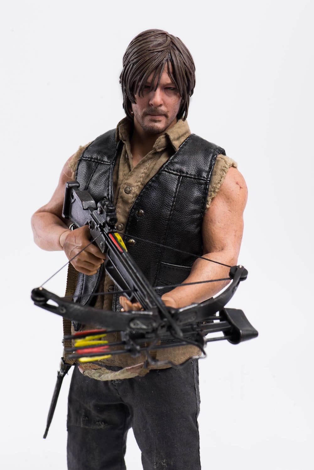 DARYL DIXON FIGURA 30 CM THE WALKING DEAD THREEA TOYS