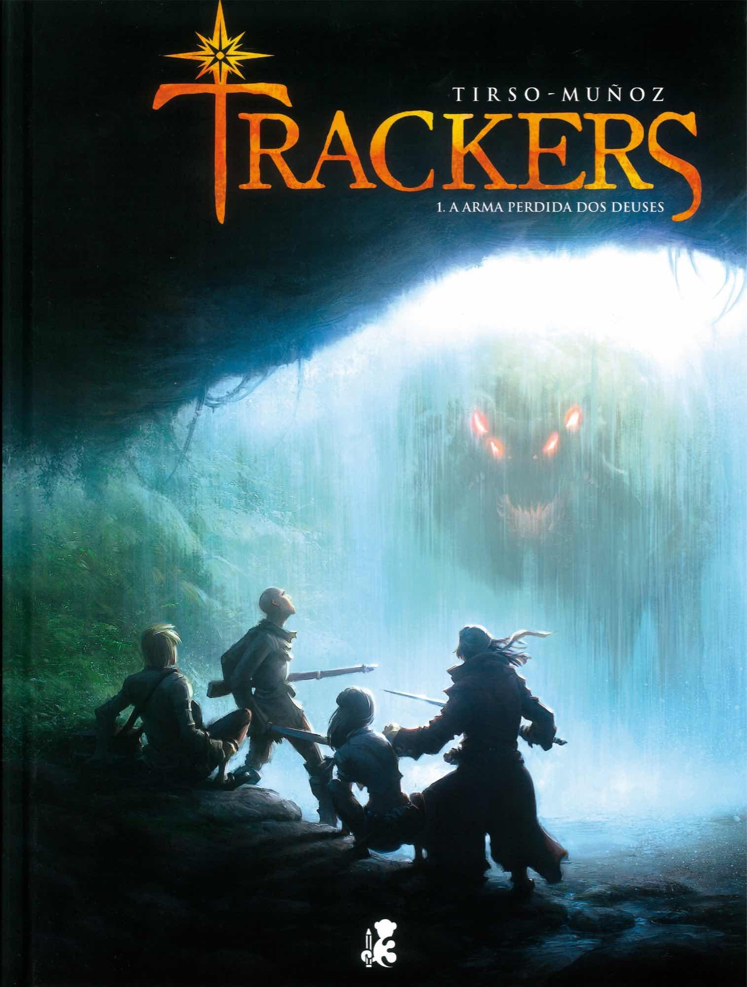 TRACKERS 01. A ARMA PERDIDA DOS DEUSES  (GALEGO)