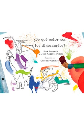 DE QUE COLOR SON LOS DINOSAURIOS