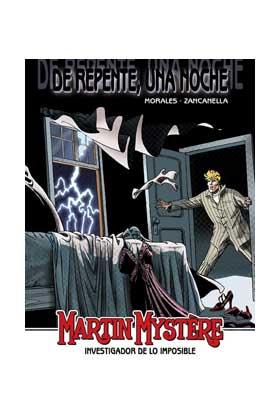 MARTIN MYSTERE: DE REPENTE UNA NOCHE