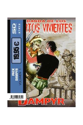 PACK ALETA. DAMPYR 1: LA BANDA DE LOS MUERTOS VIVIENTES + EL MAR DE LA MUERTE