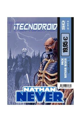 PACK ALETA. NATHAN NEVER 1: ¡TECNODROIDES! + SHAOLIN