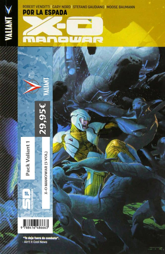 PACK VALIANT 01. X-O MANOWAR (5 VOL)