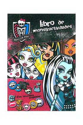 MONSTER HIGH. LIBRO DE MONSTRUOACTIVIDADES