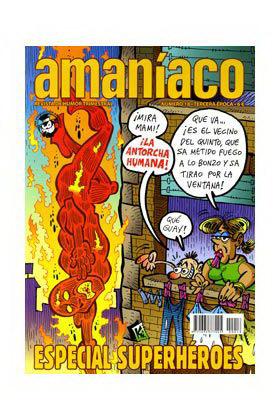 AMANIACO 18 TERCERA ÉPOCA ESPECIAL SUPERHEROES