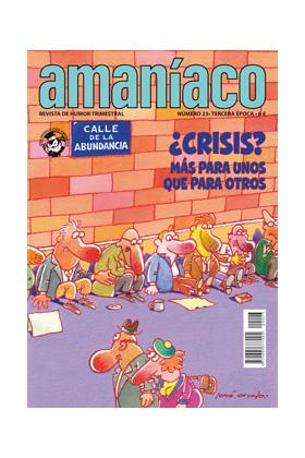 AMANIACO 23 TERCERA ÉPOCA (ESPECIAL CRISIS)