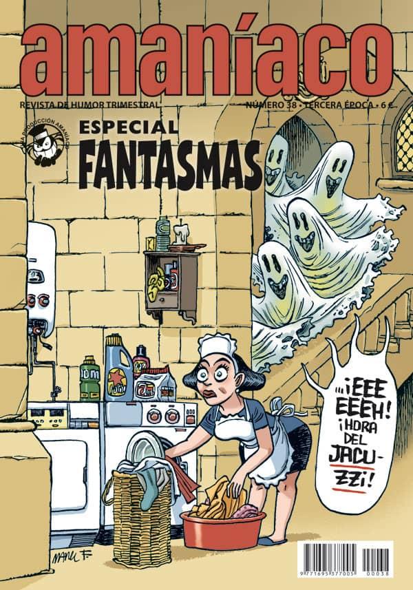 AMANIACO 38. ESPECIAL FANTASMAS