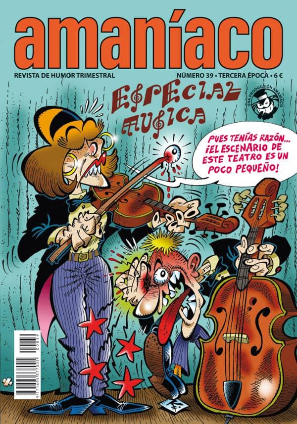 AMANIACO 39. ESPECIAL MUSICA