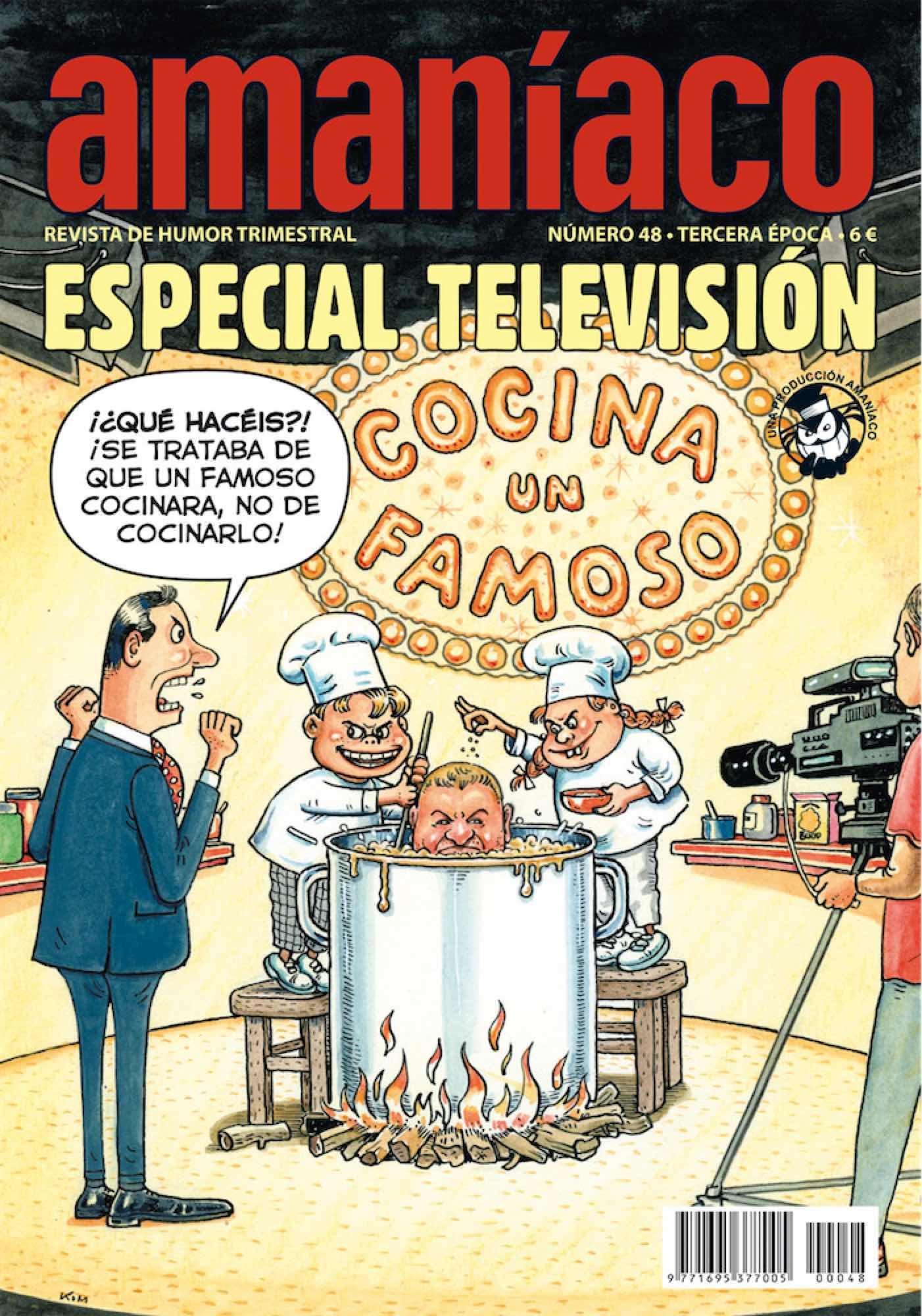 AMANIACO 48. ESPECIAL TELEVISION