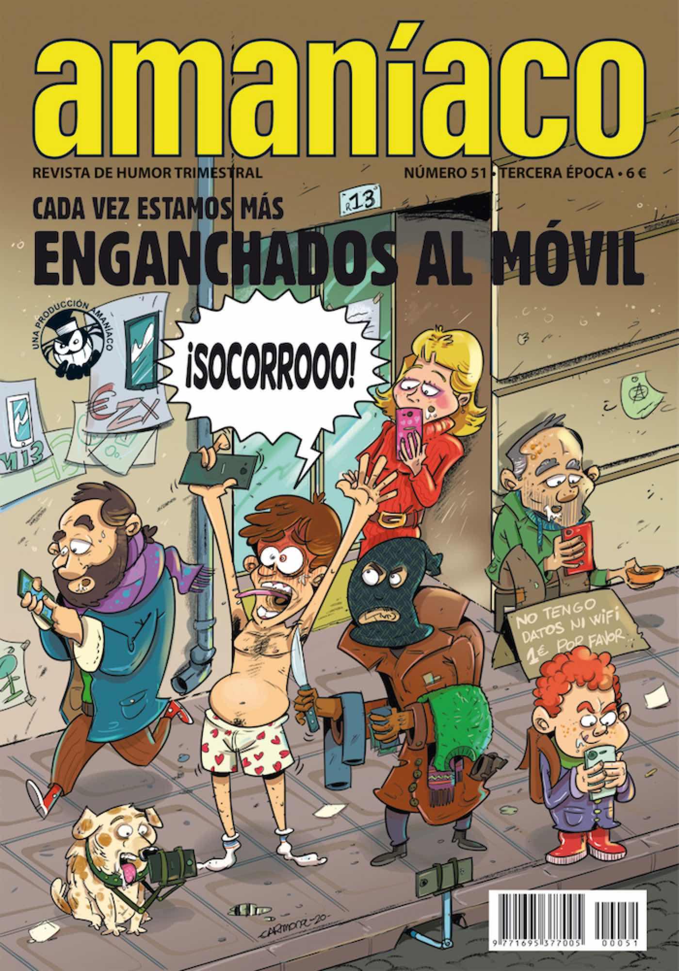 AMANIACO 51. ESPECIAL ENGANCHADOS AL MOVIL