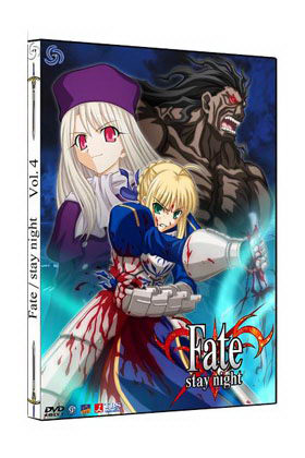 FATE/STAY NIGHT VOL. 04 - CAJA METALICA (2 DVD)